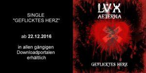LVX AETERNA - Single geflicktes Herz